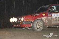 Dmitri Kishkarev et Alan Ockwell, VW Golf 1990, P-3