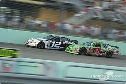 Ryan Newman et Bobby Labonte