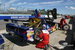 Pitstop practice at Brumos Racing