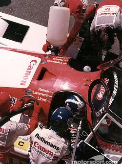 Джонатан Палмер, Ян Ламмерс, GTi Engineering, Porsche 956 (№14)