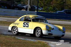 #55 1961 Porsche 356: Perry Tennell