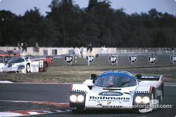 #2 Rothmans Porsche 962C: Derek Bell, Hans Stuck