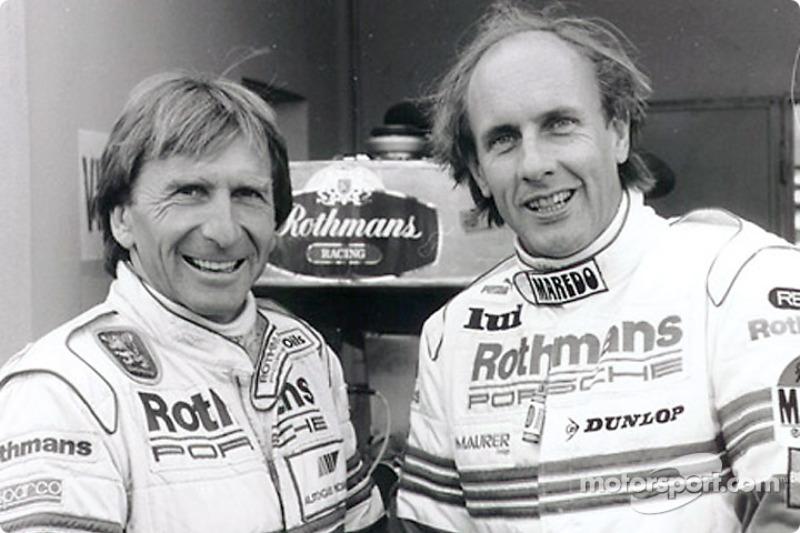 1985: Derek Bell y Hans Stuck