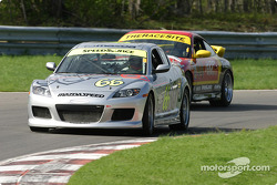 #66 SpeedSource Mazda RX-8: Marcelo Abello, Benoit Theetge