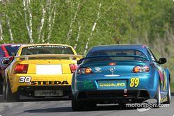 Shreiner Racing Mustang Cobra : John Shreiner, Jeff Lapcevich; Cairsea Racing / RMS Mazda RX-8 : Ro