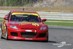 La Mazda RX-8 n°49 Southpaw Racing : Mark Eaton, Frank Howard