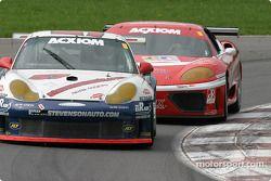 La Porsche GT3 RS n°57 du Stevenson Motorsports / Auto Assets (Chip Vance, John Stevenson, Jeff Lewis)