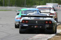 La Ferrari 360GT n°85 du Falcon Racing (Nick Longhi, Joshua Rehm, Lawrence Stroll)