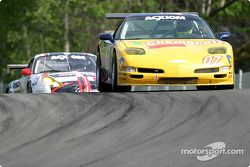 La Corvette n°07 du Powell Motorsport (Normand Guindon, Marc-Antoine Camirand)
