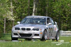 La BMW M3 n°92 du Anchor Racing (John Munson, James Sofronas)