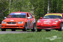Team Lexus Lexus IS300 : Ian James, Chuck Goldsborough ; TheRaceSite.com Racing : Will Nonnamaker, Joe Nonnamaker