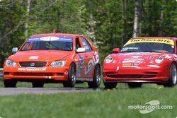 Team Lexus Lexus IS300 : Ian James, Chuck Goldsborough; TheRaceSite.com Racing : Will Nonnamaker, Joe Nonnamaker