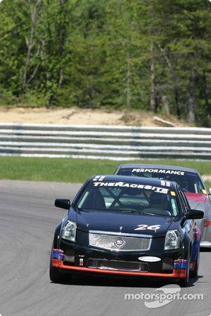 La Cadillac CTS-V n°26 du Snipes Motorsport (Peter Sachs, Chuck Snipes)