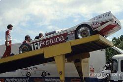 #17 Brun Motorsport, Porsche 962 C