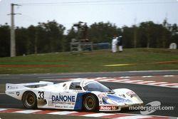#33 Danone Porsche Espana Porsche 956B: Emilio de Villota, George Fouché, Fermin Velez