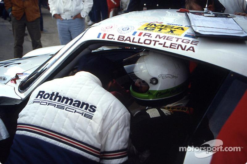 Boxenstopp: #180 Porsche AG, Porsche 961: René Metge, Claude Ballot-Léna