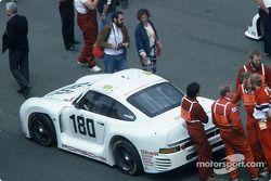 Startaufstellung: #180 Porsche AG, Porsche 961: René Metge, Claude Ballot-Léna