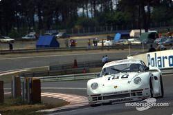 #180 Porsche AG, Porsche 961: René Metge, Claude Ballot-Léna
