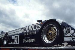 #61 Kouros Racing Team, Sauber C8 Mercedes