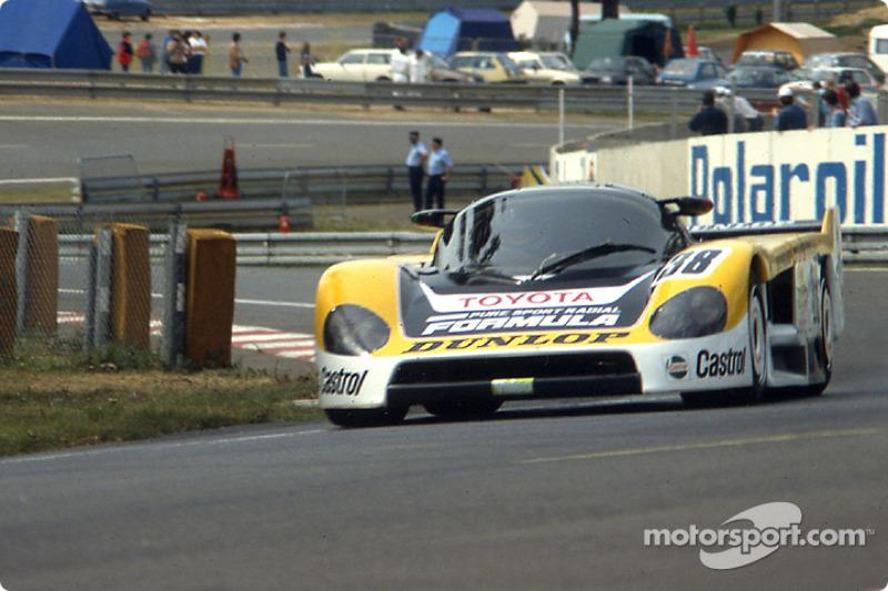 1986: #38 Dome Dome 86C Toyota: Beppe Gabbiani, Eje Elgh, Toshio Suzuki