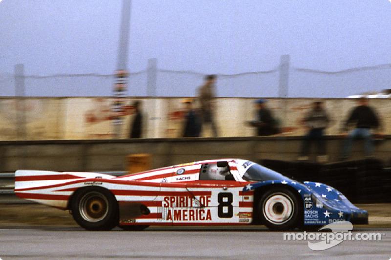#8 Joest Racing Porsche 956: John Morton, George Follmer, Kenper Miller
