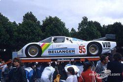 #95 Rolland Bassaler, Sauber SHS C6 BMW