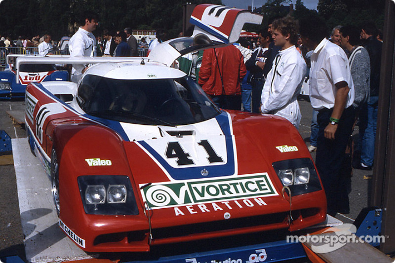 #41 WM Secateva, WM P85 Peugeot