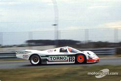 #18 Brun Motorsport, Porsche 962 C: Massimo Sigala, Frank Jelinski, Walter Brun