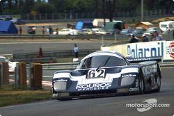 #62 Kouros Racing Team, Sauber C8 Mercedes: Christian Danner, Henri Pescarolo, Dieter Quester