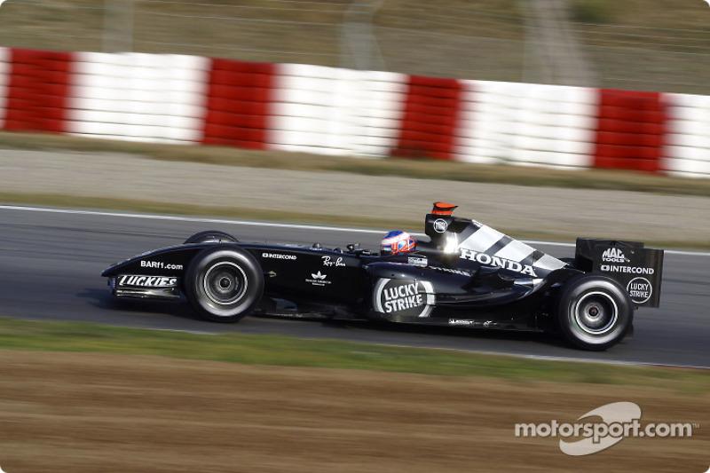 2004: Teste com a BAR