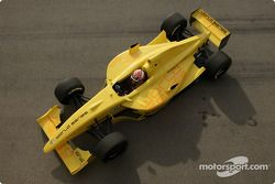 Photoshoot: Jonathan Cochet with the new Formula Renault 3.5 single seater