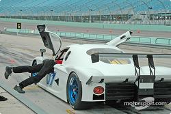 #07 Michael Baughman Racing Pontiac Crawford: Michael Baughman, Bob Ward