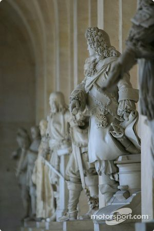 Visit of the Château de Versailles: status on display