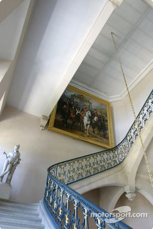 Visit of the Château de Versailles: spectacular staircase