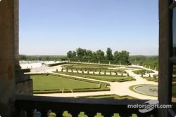 Visit of the Château de Versailles: a room with a view