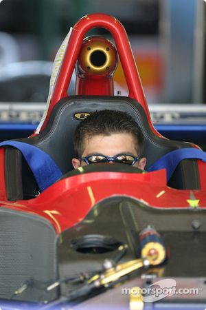 Intersport Racing crew member