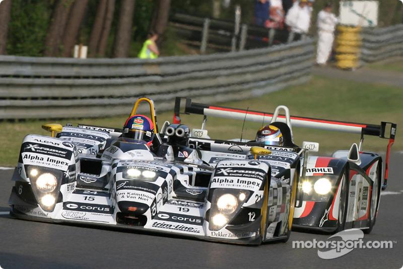 #15 Racing for Holland Dome Judd: Jan Lammers, Chris Dyson, Katsumoto Kaneishi, #5 Audi Sport Japan