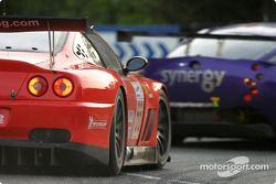 #66 Prodrive Racing Ferrari 550 Maranello: Alain Menu, Peter Kox, Tomas Enge
