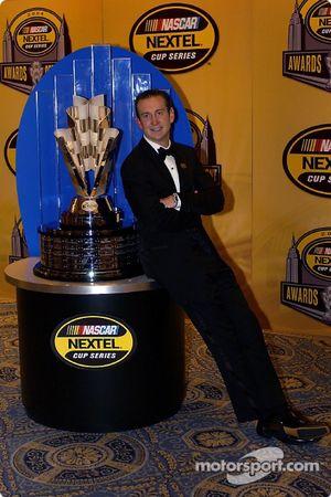 Kurt Busch, the first NEXTEL Cup Champion
