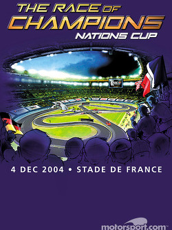 Cartel promocional de la carrera de campeones de 2004