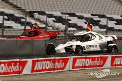 Armin Schwarz and Michael Schumacher