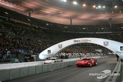 Final 1: Michael Schumacher and Heikki Kovalainen