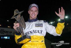 Heikki Kovalainen, vainqueur de la Course des Champions 2004
