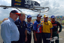 Former and current Ford Legends
