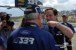 Stone Bros Racing were presented with medallions from Ford Australia for their success over the past two years