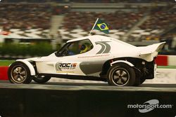 Felipe Massa na Race of Champions de 2004