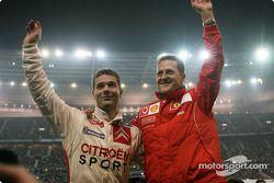 Sébastien Loeb y Michael Schumacher