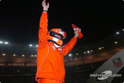 Победитель Гонки чемпионов Михаэль Шумахер