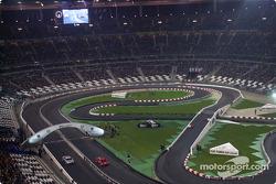 Semifinal: Michael Schumacher y Sébastien Bourdais