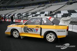 Audi S1 en exhibición